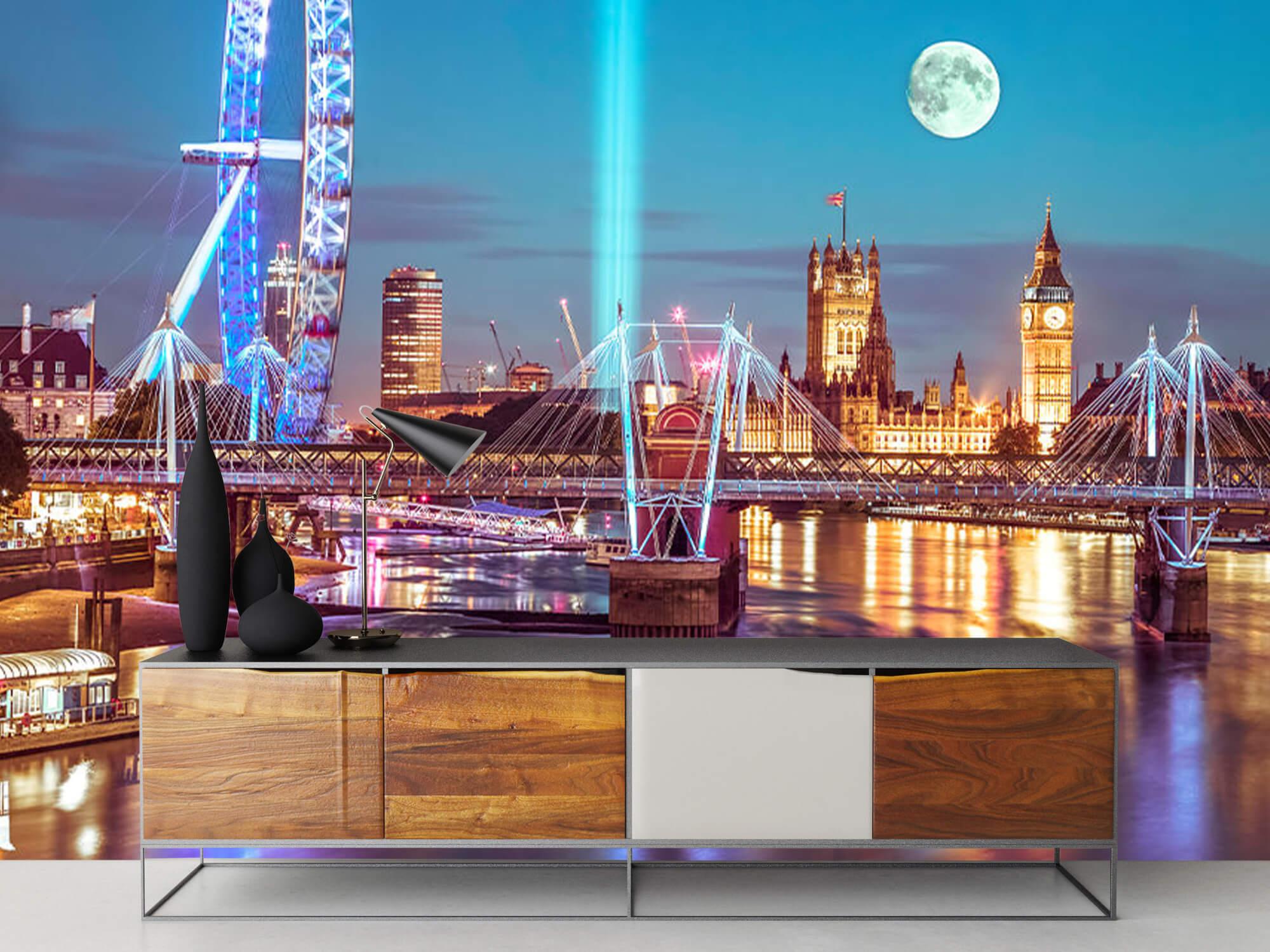 Westminster et la pleine lune 16