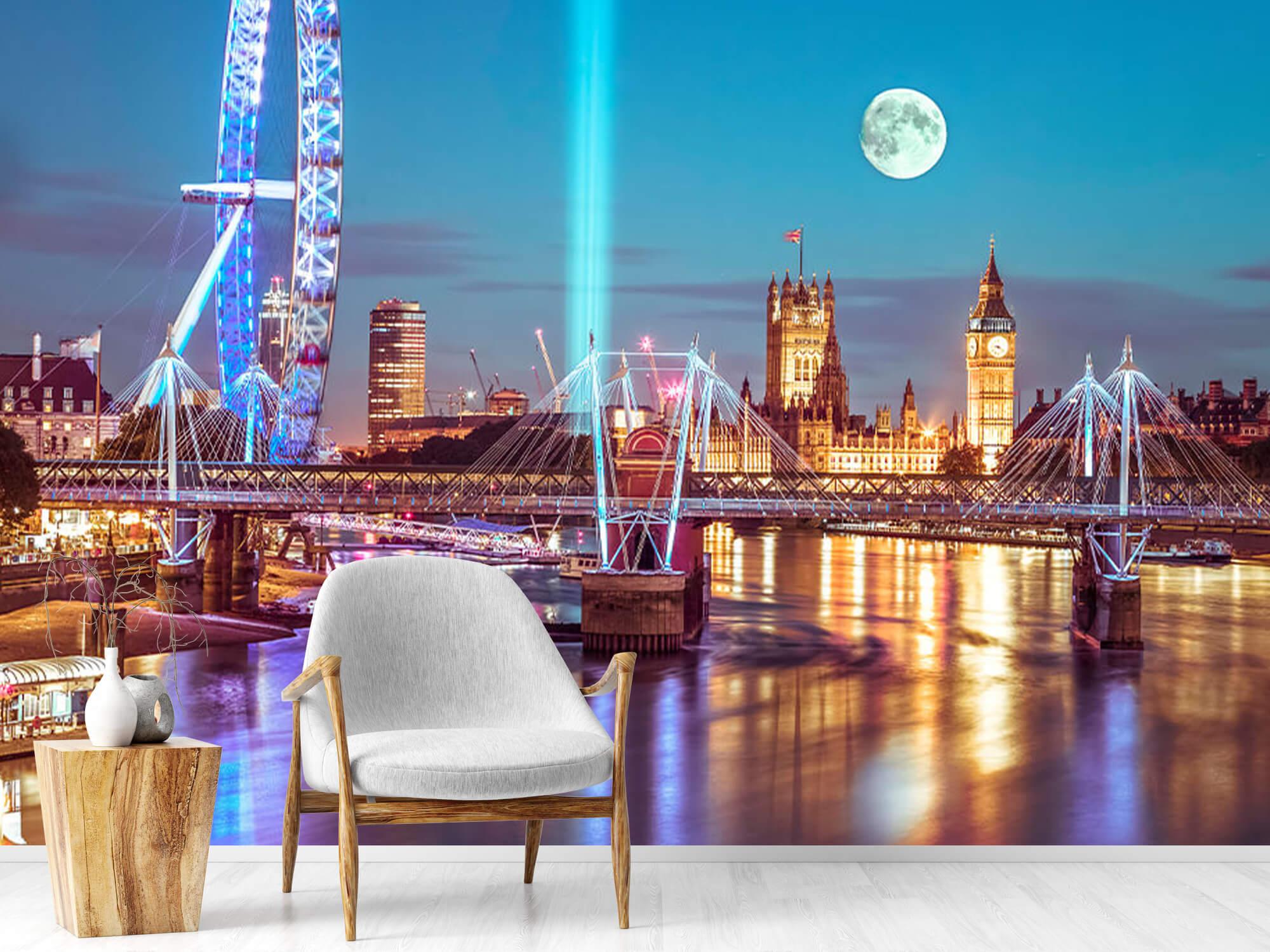 Westminster et la pleine lune 10