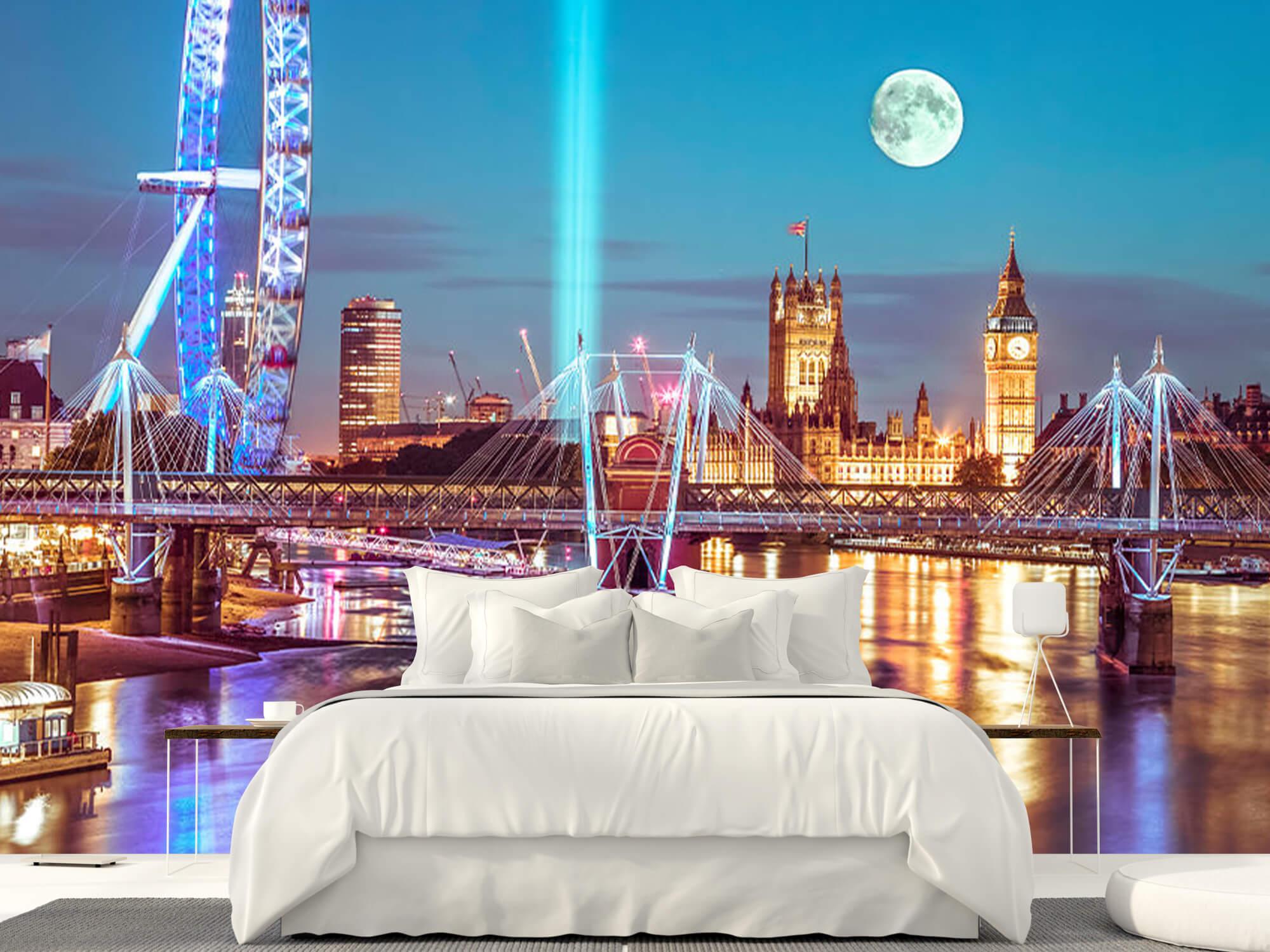 Westminster et la pleine lune 18