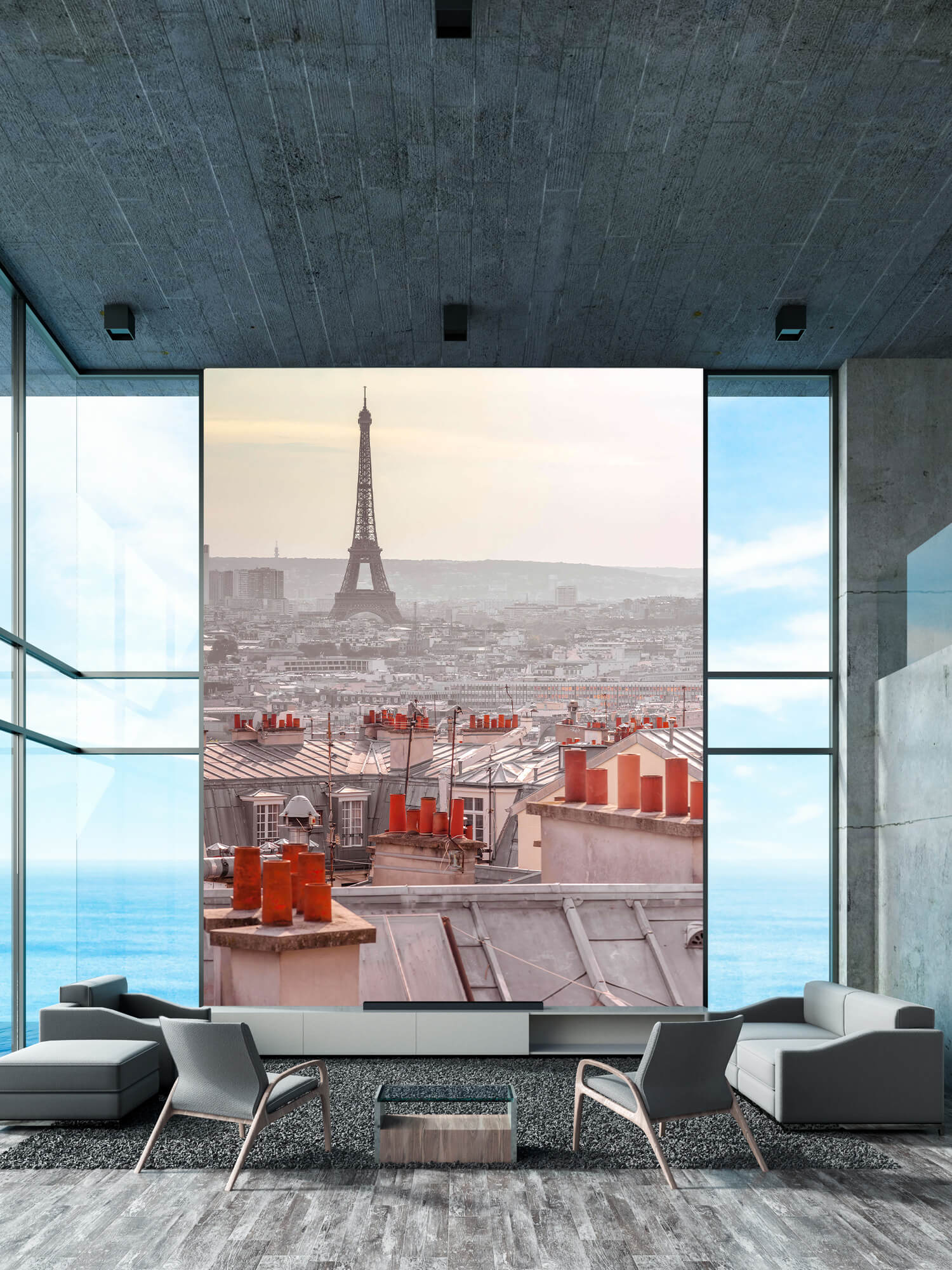 La Tour Eiffel depuis Montmartre 1