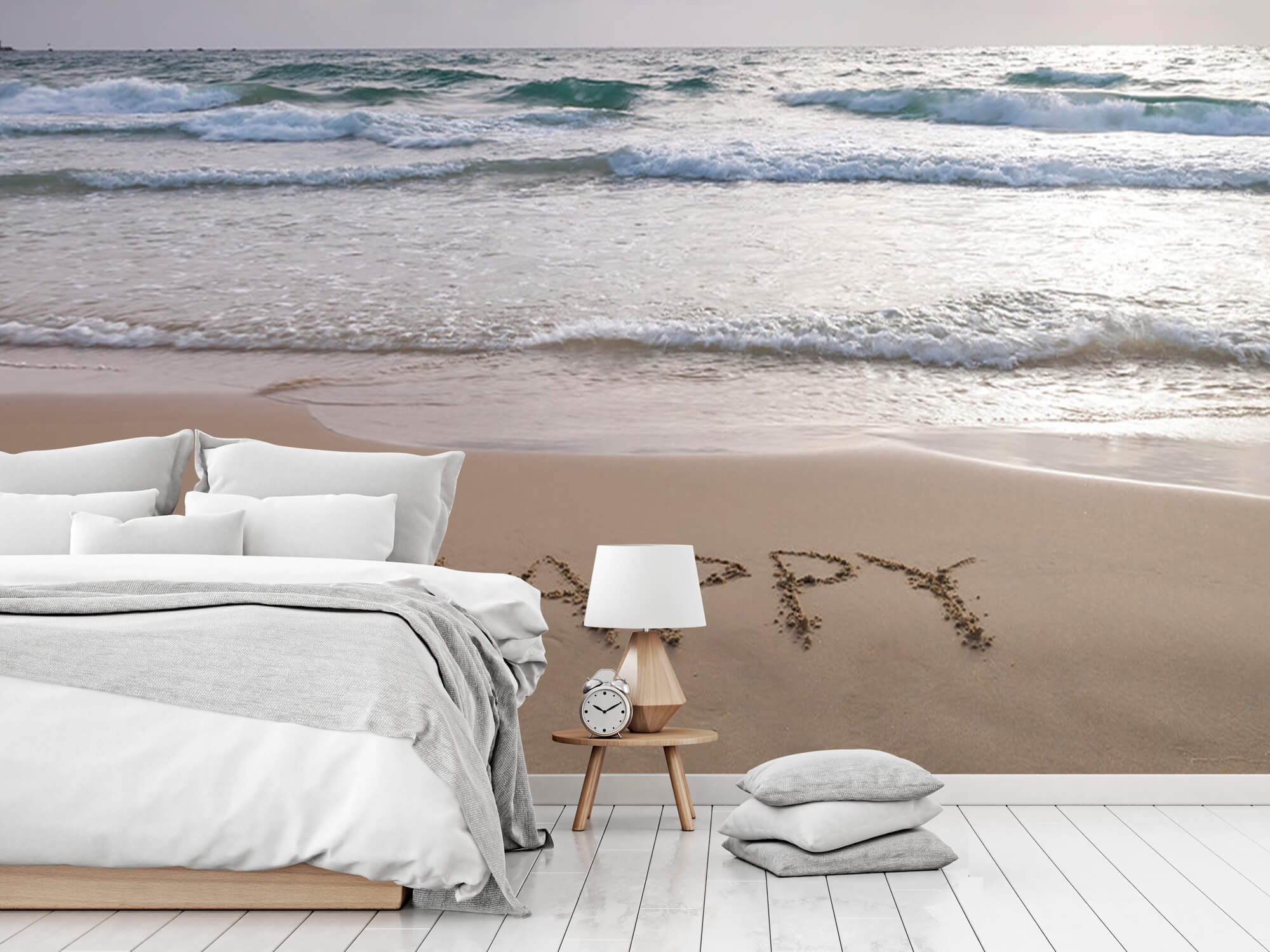 Écriture sur le sable 10