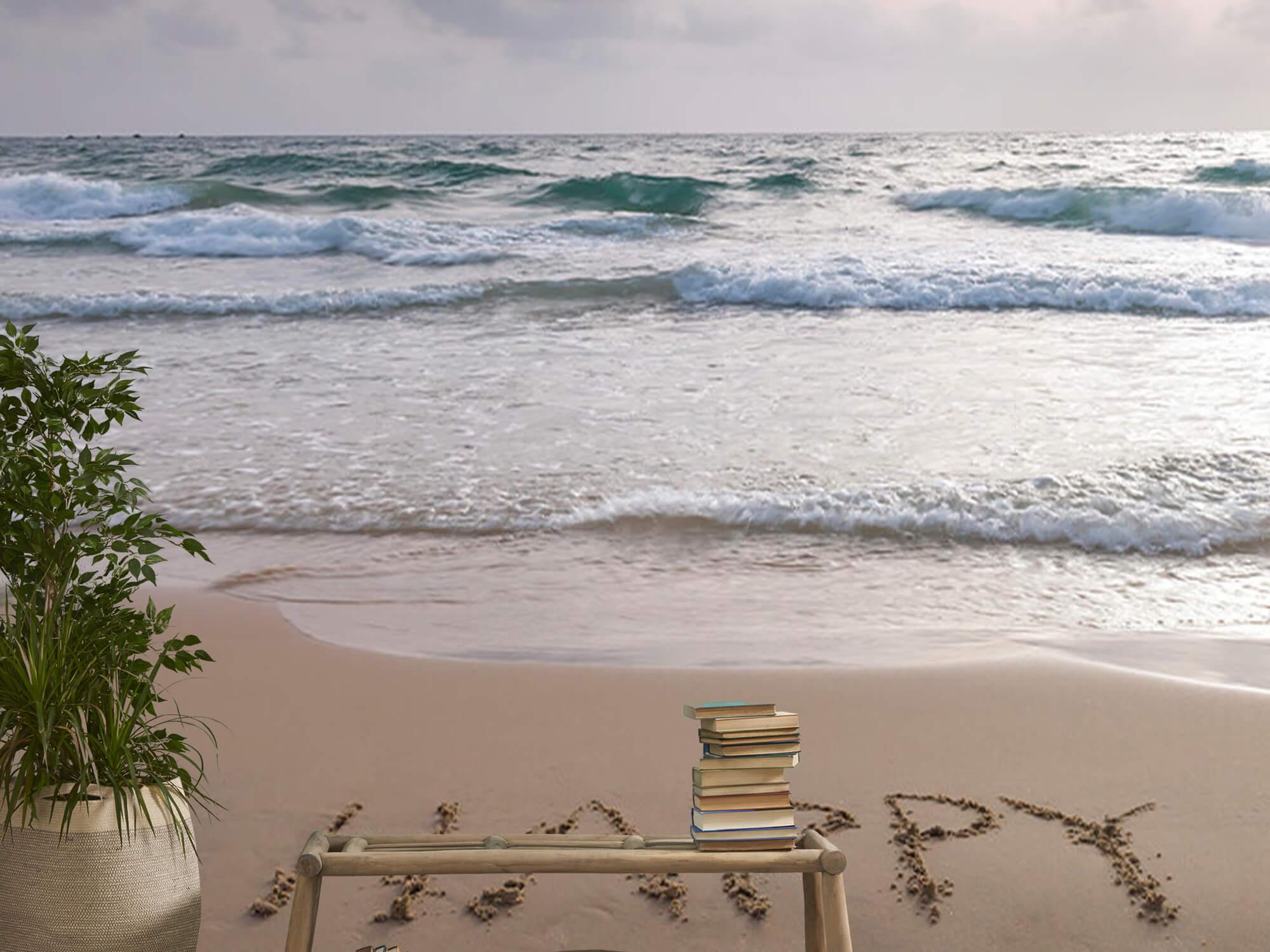 Écriture sur le sable 12