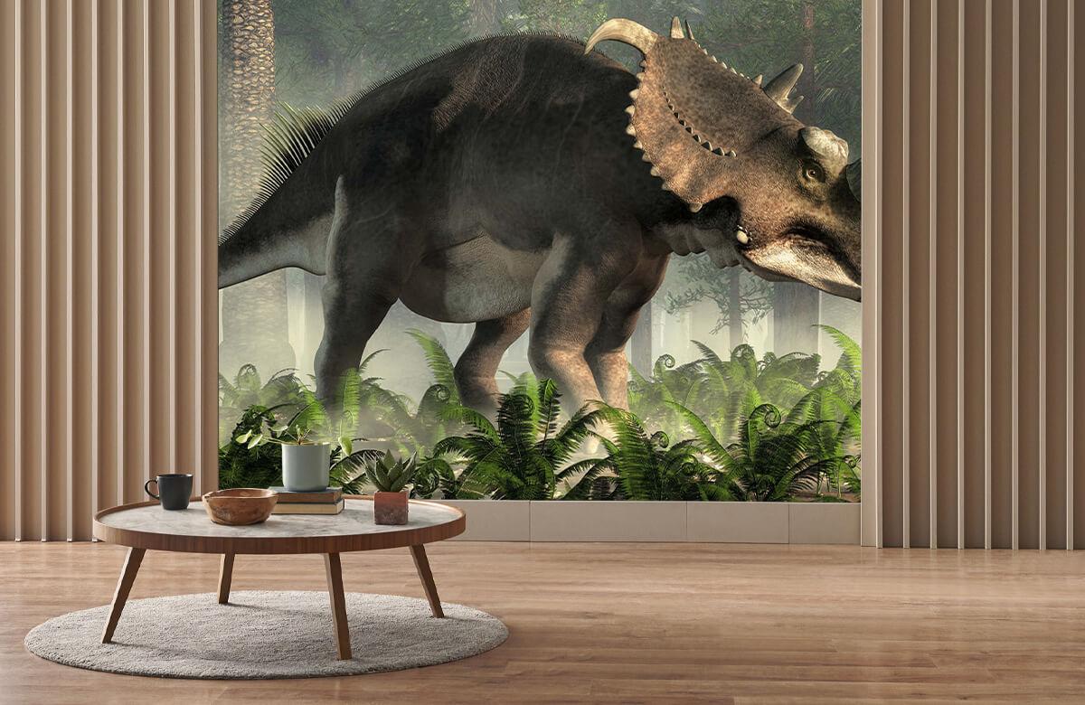 wallpaper Triceratops 3