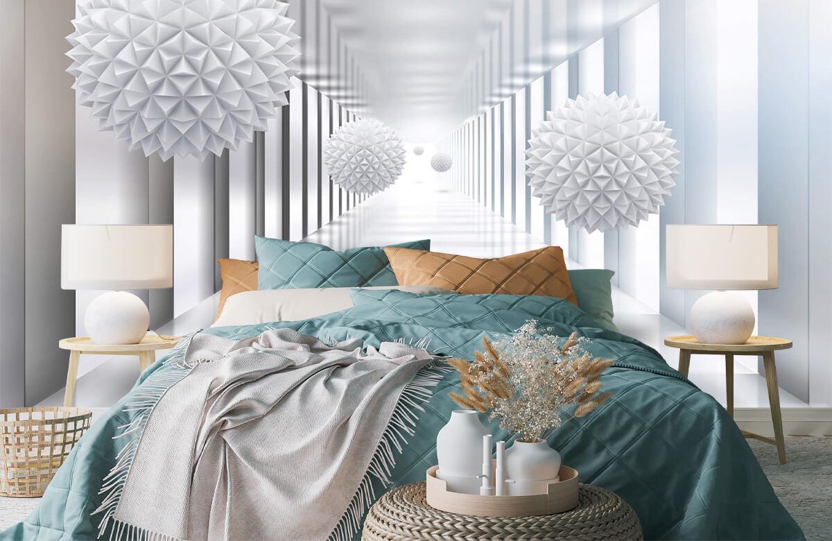 wallpaper Couloir futuriste 4