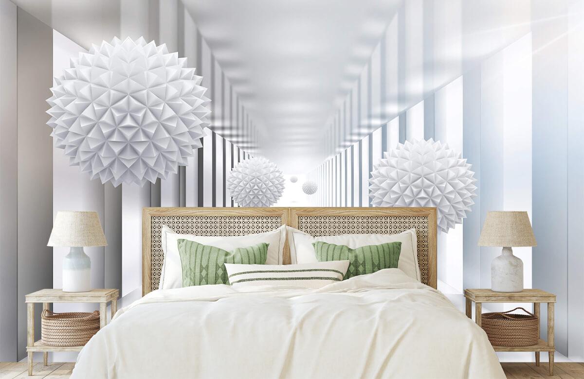 wallpaper Couloir futuriste 5
