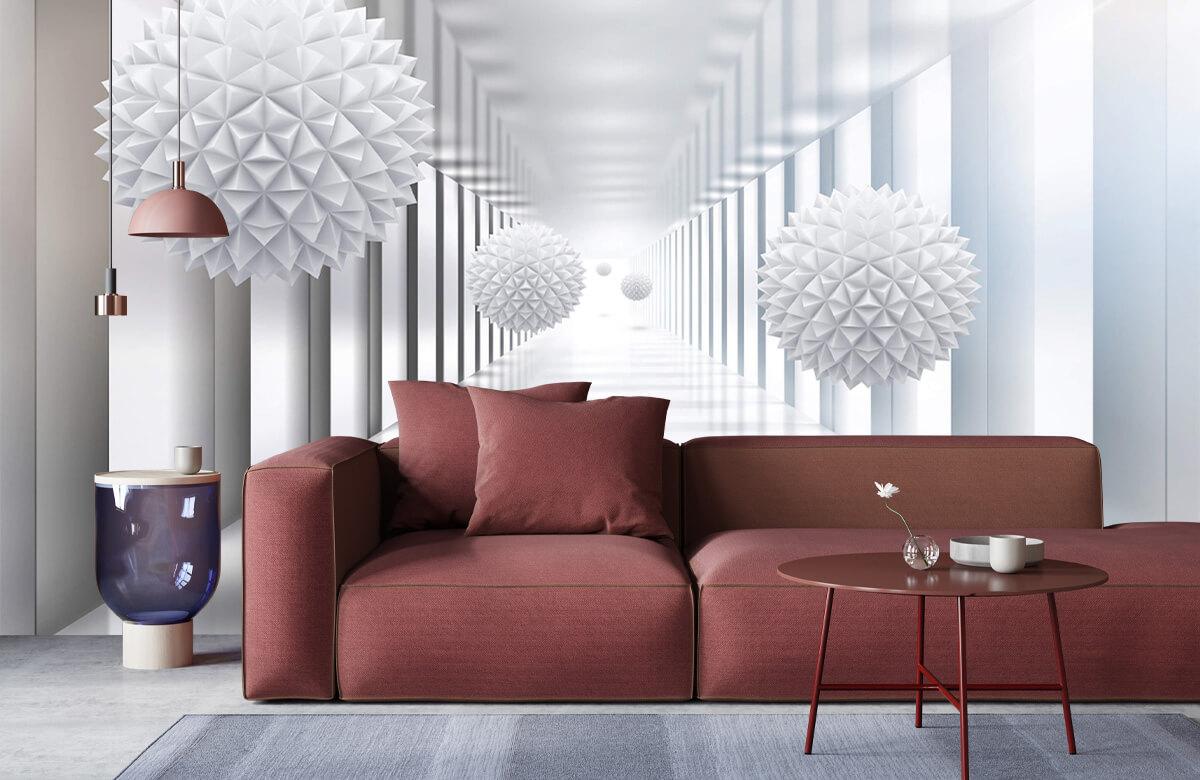 wallpaper Couloir futuriste 6