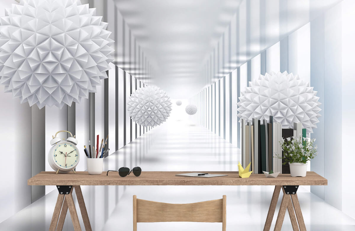 wallpaper Couloir futuriste 7