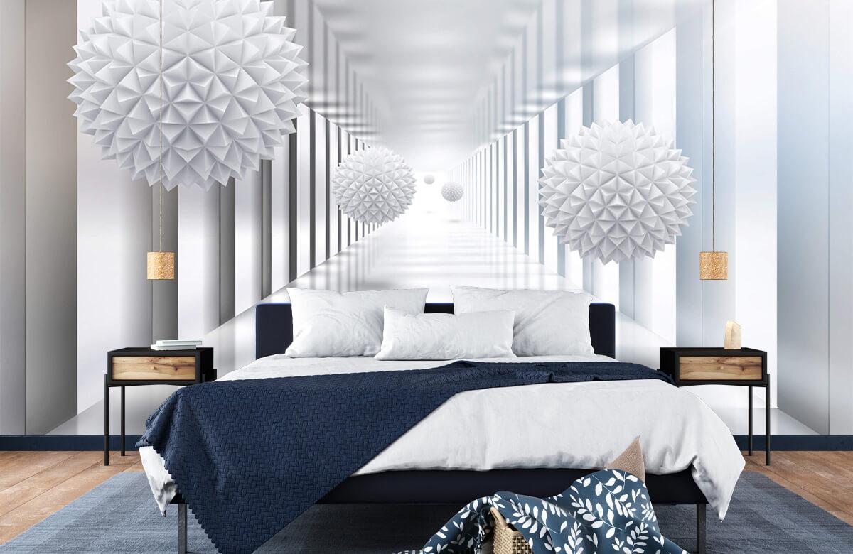 wallpaper Couloir futuriste 8