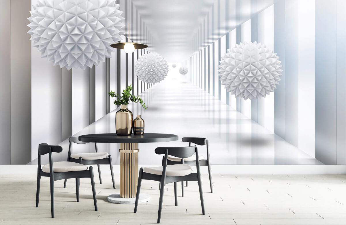 wallpaper Couloir futuriste 9