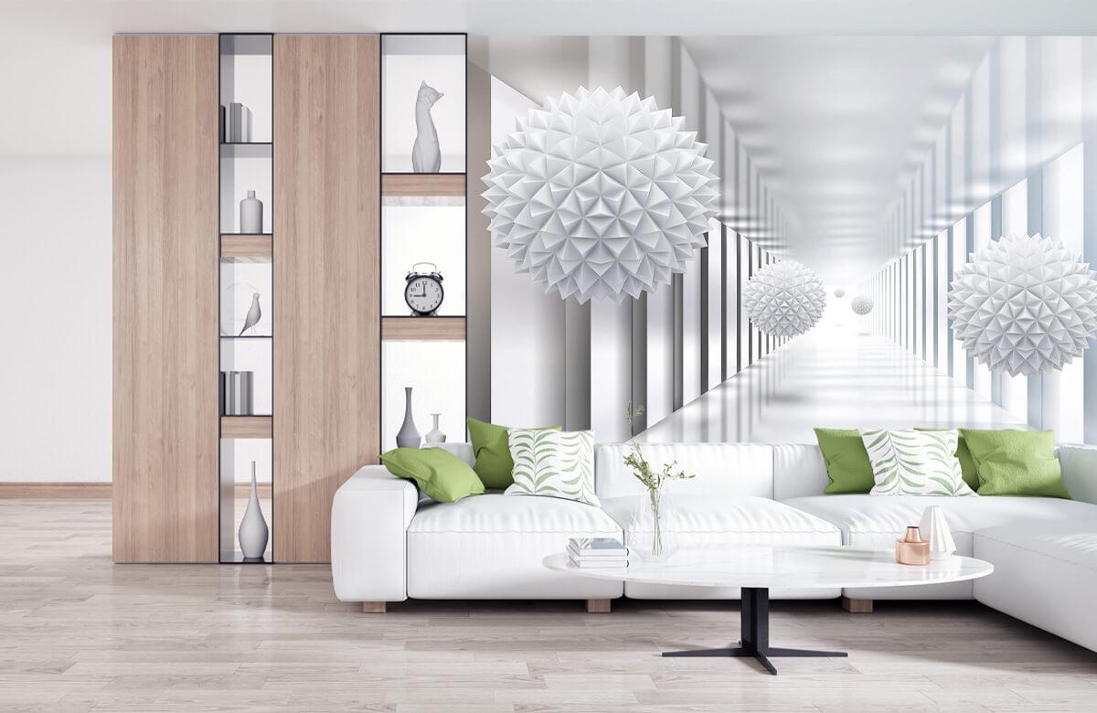 wallpaper Couloir futuriste 10