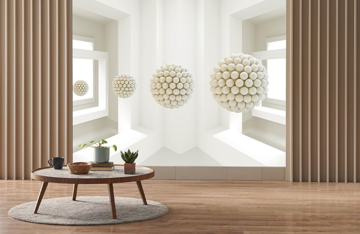 wallpaper Salle 3D 3