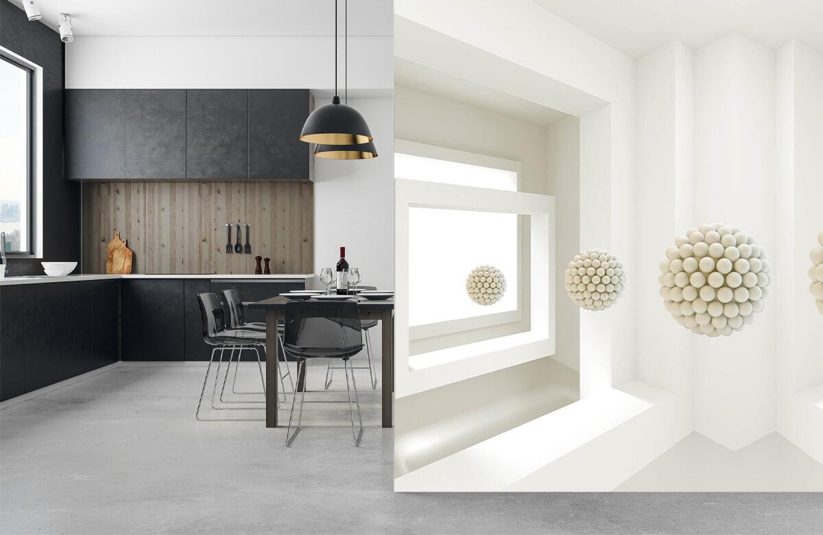 wallpaper Salle 3D 9