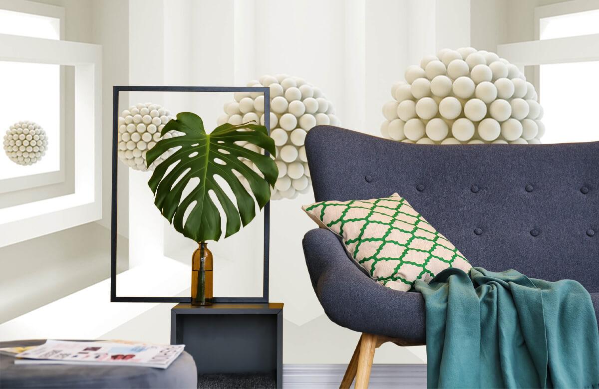 wallpaper Salle 3D 10