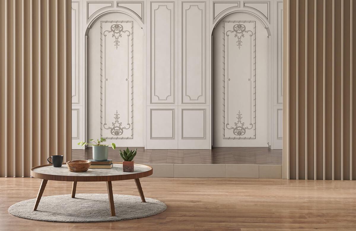 wallpaper Chambre chic 3