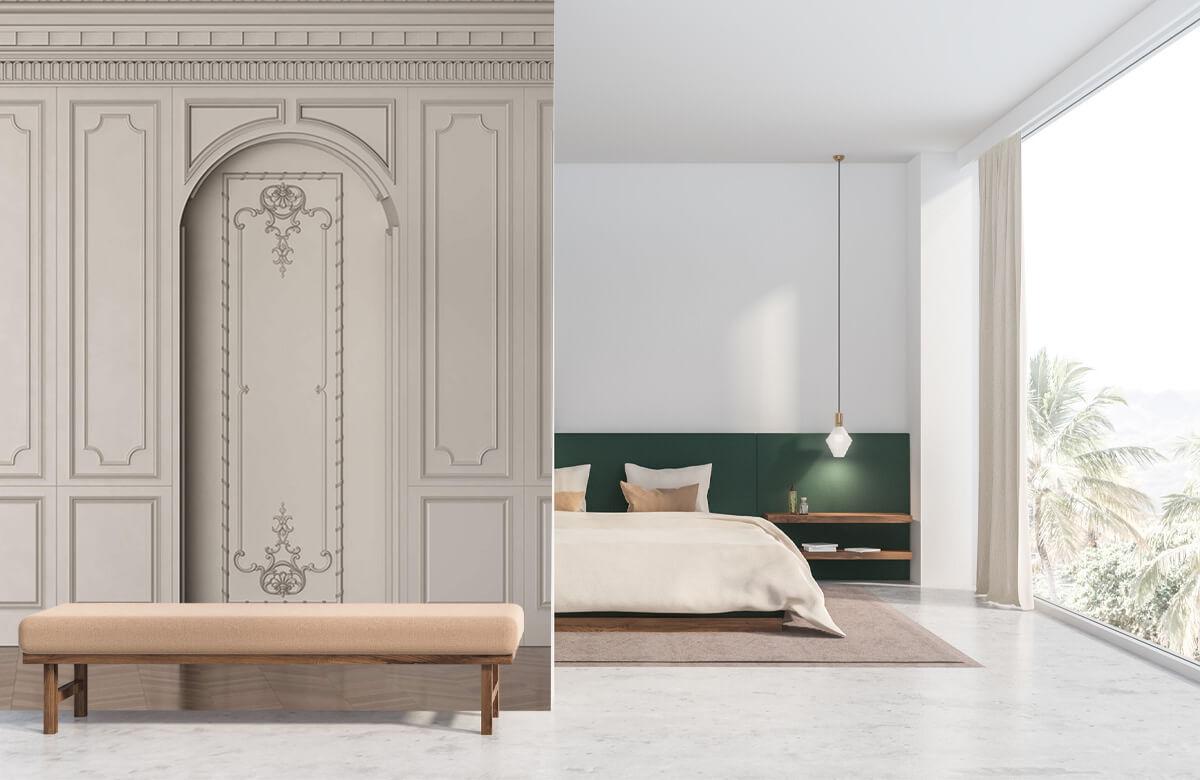 wallpaper Chambre chic 8