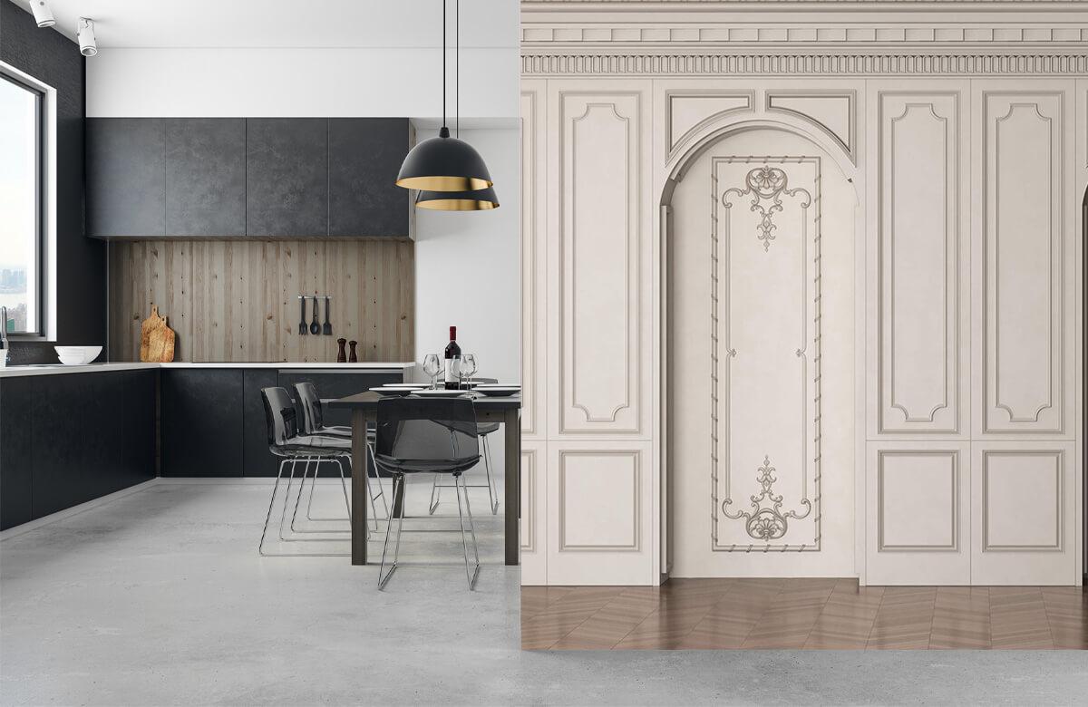 wallpaper Chambre chic 9