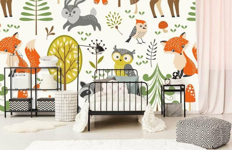 Papier peint de la chambre de bébé